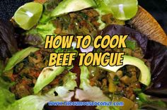 How To Cook Beef Tongue :: www.thecuriouscoconut.com