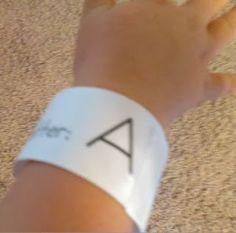 Alphabet Fun Bracelets!