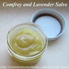 """""""Comfrey contains allantoin, an anti-inflammatory phytochemical that speeds would healing and stimulates growth of new skin cells."""" This burn cream recipe also includes one ounce each of dried plantain, calendula and St. John's wort to bump up the healing power a little more."""