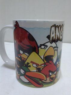 Decora con los Angry Bird.