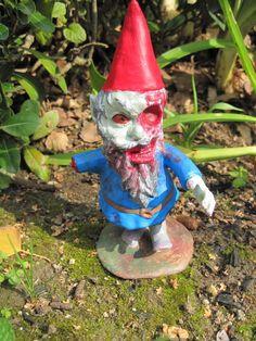 Zombie Gnomes Patient Zero by ChrisandJanesPlace on Etsy, $21.00