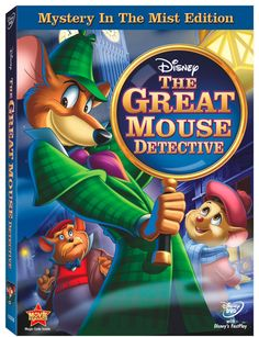 disney movies, mice, disney film, mous detect, basil, the great, detective, baker street, sherlock holm