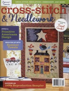 Cross Stitch and Needlework Magazine July 2012