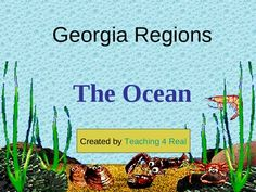 This is a 5 part powerpoint series about the 5 Georgia Regions. Your students will love this very interactive lesson that encourages discussion, predictions, and critical thinking.     Have fun watching a live video about one of the animals in this region while discussing it's importance.