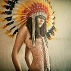 henna, fashion, native americans, dress, art, indian style, feathers, tattoo, photography