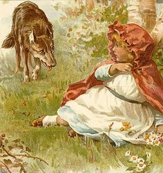 Little red riding hood by sofi01, via Flickr