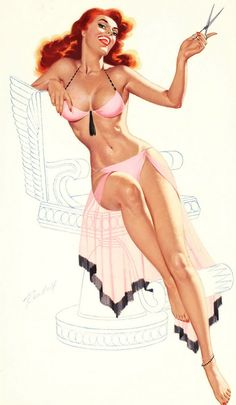 Bill Randall: Pin Up and Cartoon Girls