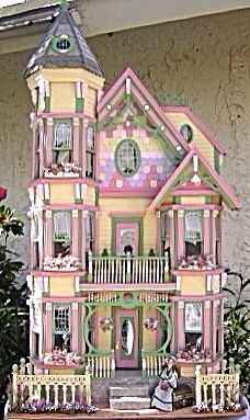 Dollhouses Landscaping On Pinterest Victorian