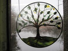Stained Glass Tree of Life by RenaissanceGlass on Etsy, $475.00