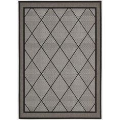 Eclipse Glamarous Diamond Silver Rug (7'10 x 10'10)