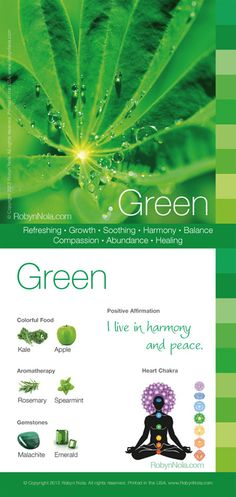 °Green - Color Therapy Card