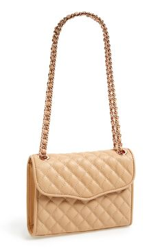 You can always rely on a quilted shoulder bag! Smitten by this Rebecca Minkoff beauty.