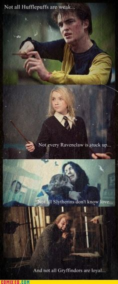 The Snape one ... :'( <3