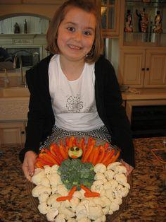 Vegetable Turkey :)