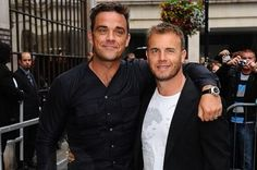 Robbie Wiliams and Gary Barlow