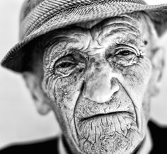 Old Black and White Photography   love black and white photos of old wrinkly faces. I'd say, in fact ...