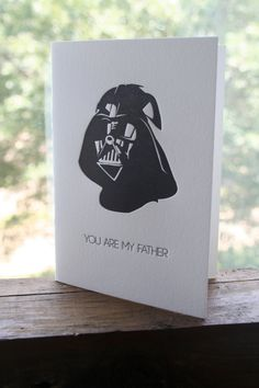Father's Day Card. The boys would love this!