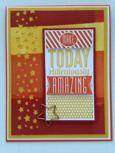 Stampin' in the Sun!: One Stamp Set, Several Ways with SSInk using Amazing Birthday
