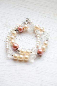 Glass Pearls Necklace $15.00