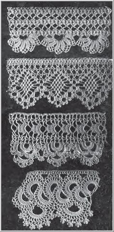 pretty crocheted edging