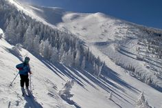 It's unimaginable to think Arizona receives snow, but they actually do. Arizona Snowbowl is the top ski resort in AZ, with around 265 inches of snow each year. Snowbowl offers sweet bowl's and great terrain around the whole mountain; and the best part, tickets are only 60 dollars.
