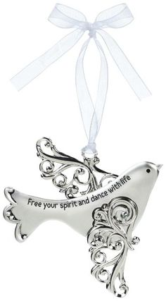 Ganz Blessing Birds Ornament - Free your spirit and dance with life $6.95