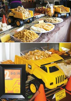 Creative Construction Themed Birthday Party - Click image to find more Holidays & Events Pinterest pins