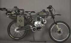 Motopeds Built The Ultimate Survival Bike