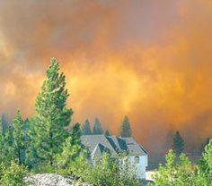 When wildfire comes to town :: Fall 2011 :: Washington State Magazine