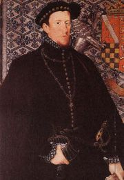 Thomas Howard, 4th Duke of Norfolk (third creation), KG Earl Marshal (10 March 1536 – 2 June 1572) was an English nobleman.  Norfolk was the son of the poet Henry Howard, Earl of Surrey. He was taught as a child by John Foxe, the Protestant martyrologist, who remained a lifelong recipient of Norfolk's patronage. His father predeceased his grandfather, so Norfolk inherited the Dukedom of Norfolk upon the death of his grandfather, Thomas Howard, 3rd Duke of Norfolk in 1554.