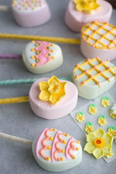 EDIBLE FOOD DESIGNS IMAGES   Food Design and Edible Decorations, 20 Sweet Easter Ideas for Table ...