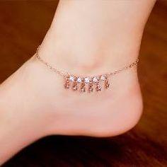 women ankle bracelets