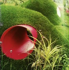 berm with tunnel backyard tunnel, childrens playground, children's backyard play, kid garden, growing flowers, childrens playscapes, outdoor idea, children playground, garden fun