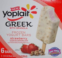 Yoplait Greek Frozen Yogurt Bars with Granola--HAVE YOU HAD THESE YET ...