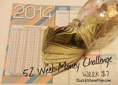 52 Week Money Challenge Week 7 #52weekmoneychallenge