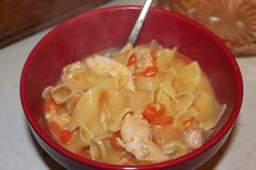 Upcycled Downriver: Homemade Chicken Noodle Soup