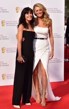 Tess Daly and Claudi