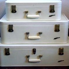 Lady Baltimore Luggage Set - Winter White. 95