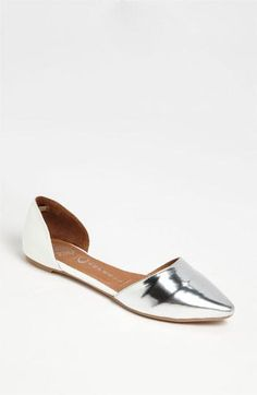Metallic + Jeffrey Campbell = Shoe Must Have.