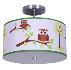 Owl Ceiling Light