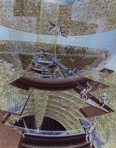 Space Colony Art, 1970s