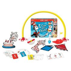 Cat in the Hat - I Can Do That! hats, cats, games, card game, toy, speech therapi, wonder forg, children book, kid