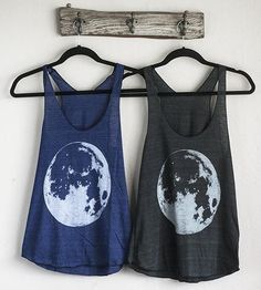 Super Moon Tank Top by nothing-obvious