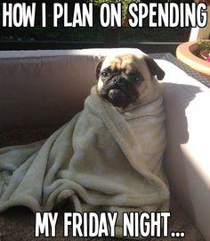 My Friday night