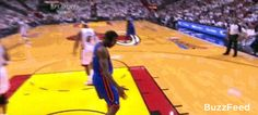The Funniest Sports GIFs Of 2012 -  Amar'e Stoudemire was a dick and faked out Shane Battie
