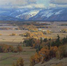 teton valley, landscap paint, scott christensen