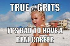 southern pride, memes, southern bred, grits, girl rais