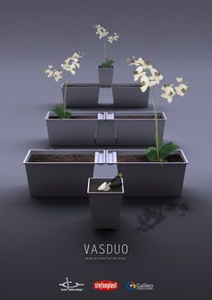 Vasduo - Design of plastic containers for the home (Master's class 2013 for Stefanplast)