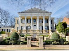 wow... what a property! It'd feel like a Southern princess. (Atlanta, GA)