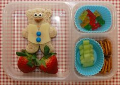 Teddy bear lunch